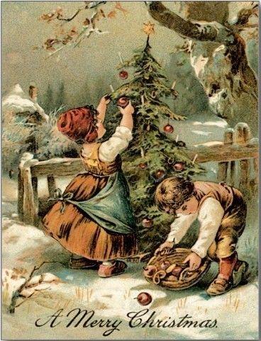 Anciennes cartes postales de noel page 14 - Cartes de noel anciennes ...