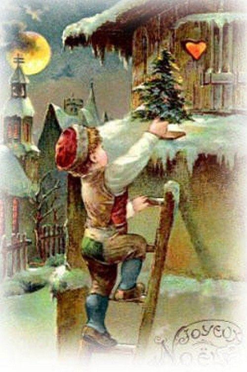 Anciennes cartes postales de noel page 4 - Cartes de noel anciennes ...