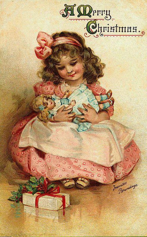 Anciennes cartes postales de noel page 9 - Cartes de noel anciennes ...