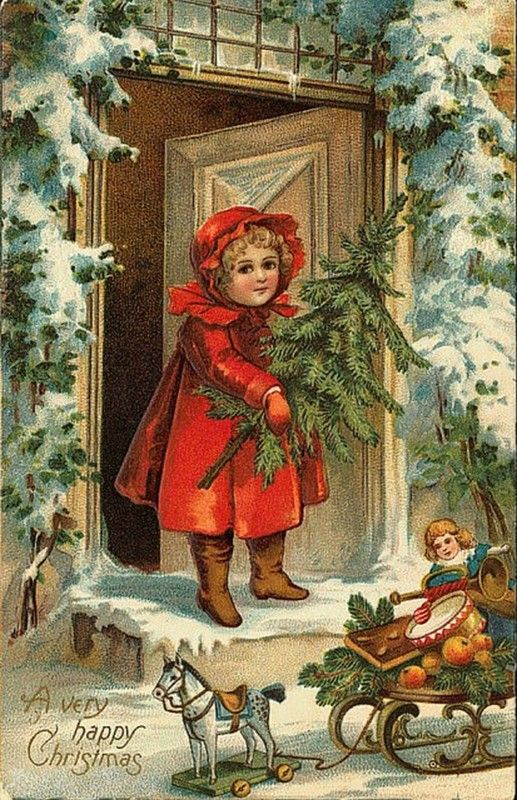 Anciennes cartes postales de noel page 5 - Cartes de noel anciennes ...