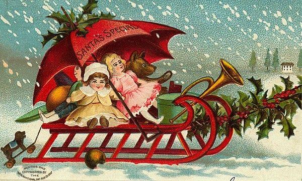 Anciennes cartes postales de noel page 17 - Cartes de noel anciennes ...