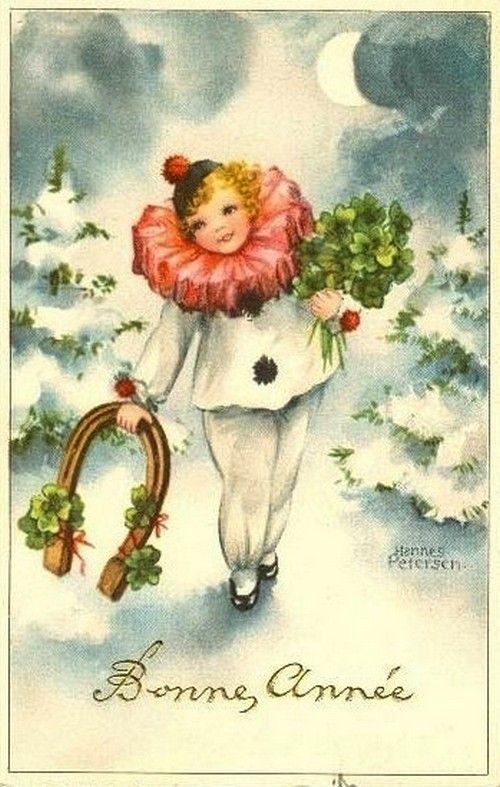 Anciennes cartes de nouvel an page 2 - Belles images bonne annee ...