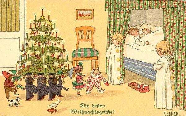 Anciennes cartes postales de noel page 18 - Cartes de noel anciennes ...