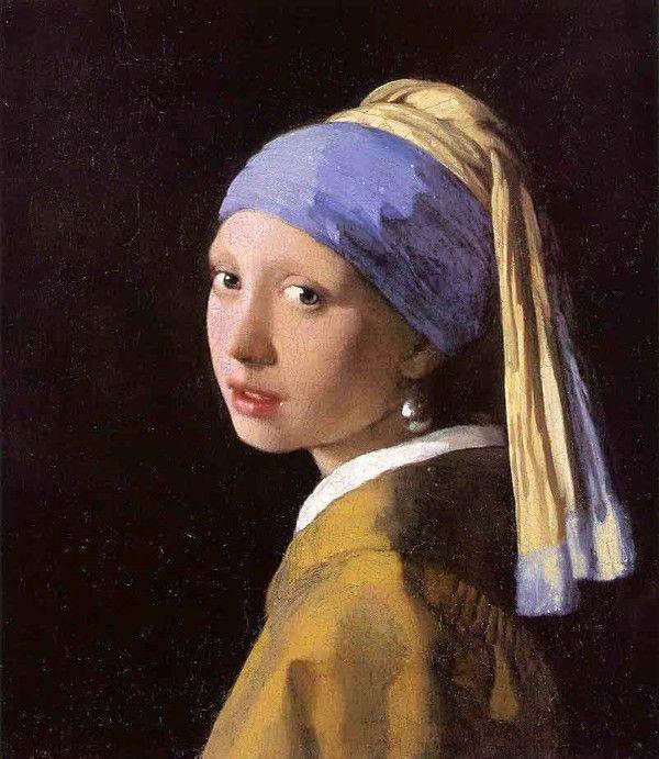 la jeune fille a la perle de vermeer