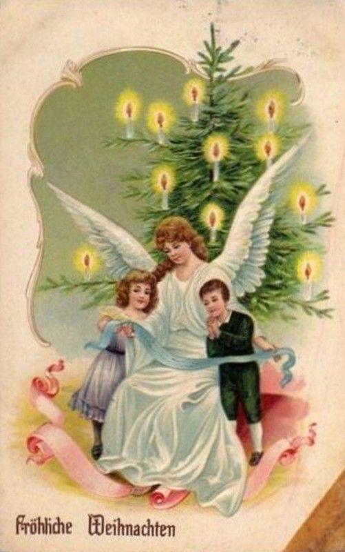 Anciennes cartes postales de noel page 10 - Cartes de noel anciennes ...