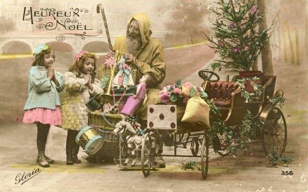 Anciennes cartes postales de noel page 8 - Cartes de noel anciennes ...