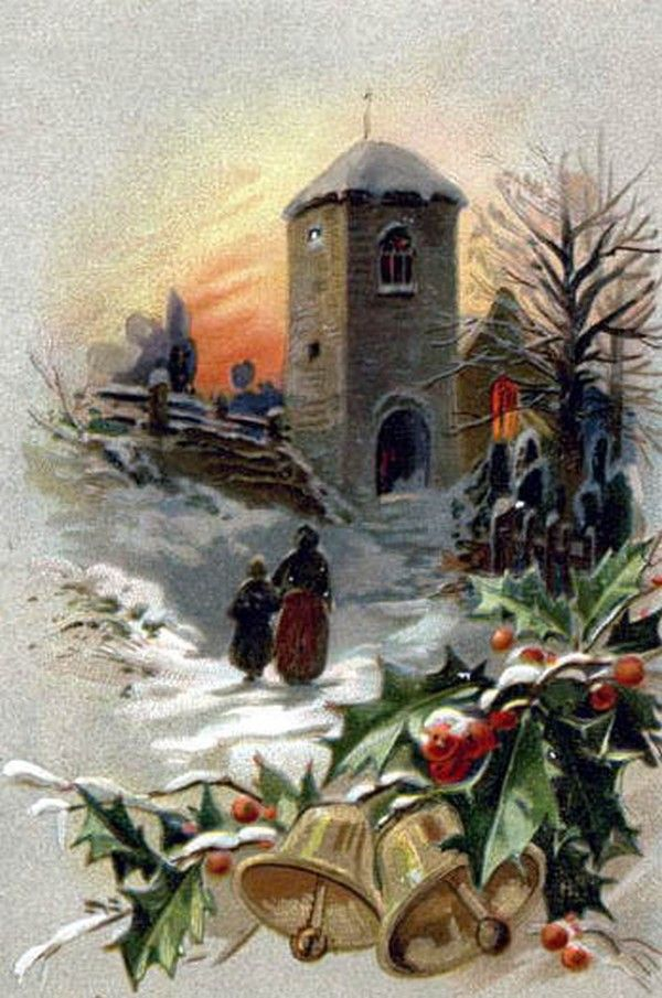 Anciennes cartes postales de noel page 7 - Cartes de noel anciennes ...