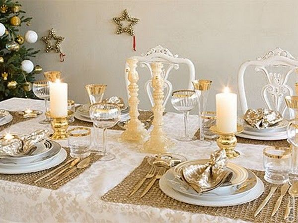 Tables en fete for Decoration reveillon