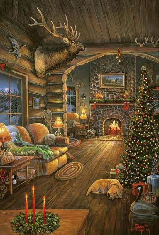 rustic christmas wallpaper craft - photo #28